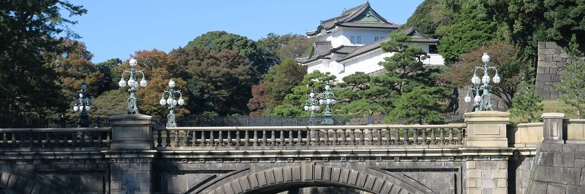 Entrance Bridge to the Imperial Palace