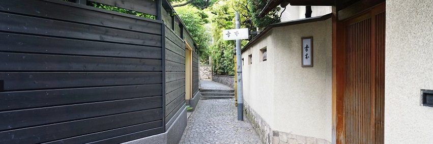 alley in Kagurazaka town